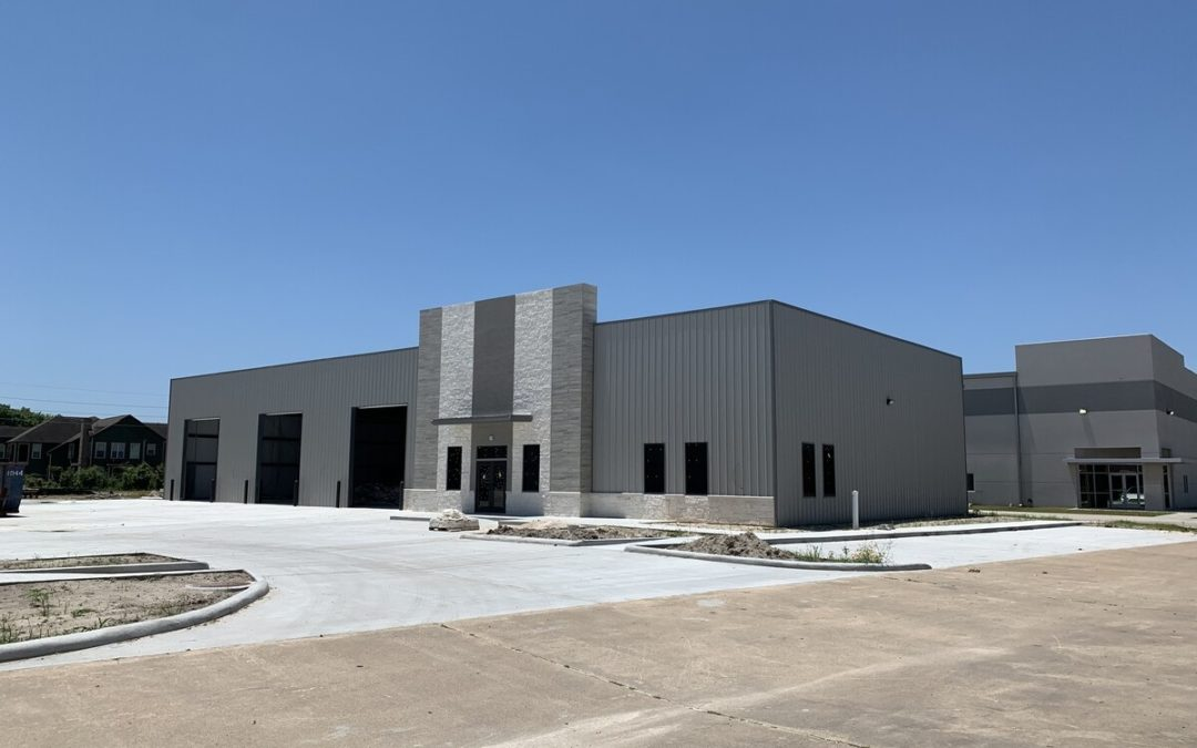MHW Completes New Industrial Warehouse Project